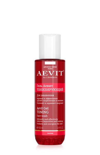 AEVIT Тонизирующий гель для умывания