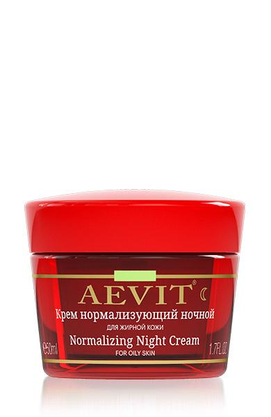 AEVIT Ночной крем для лица Нормализующий